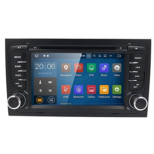 Android 7 1 Car Gps Stereo For Audi A4 S4 Rs4 B6 B7 Seat Exeo Quad Core Dvd Player Wifi Bt 4g R Android Car Stereo Wireless Backup Camera System Gps Navigation