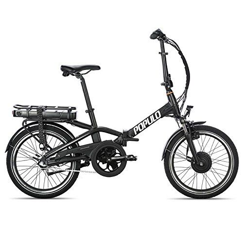 Populo Curve Folding Ebike 350w Motor 20 Mph Top Speed 20 Mile Range Removable Lithium Ion Battery Electric Bicycle For Sale Folding Electric Bike Electric Bicycle Electric Bicycle For Sale
