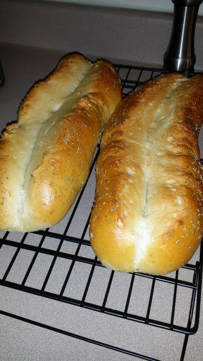 """Italian Bread! """"Another easy bread. The topping can varied for taste.""""  @allthecooks #recipe"""
