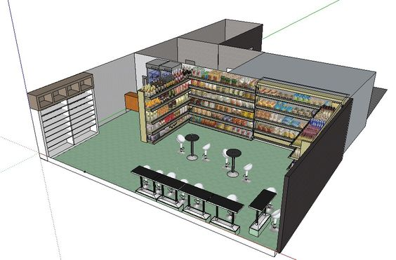 Agecement magasin