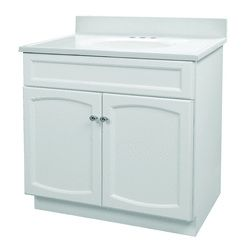 Menards 30x18 Woodhaven Vanity Combo with Top  Bathroom  Pinterest