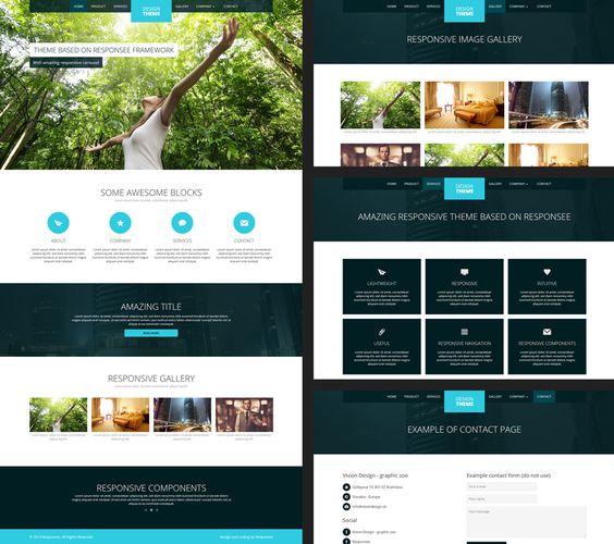 web design free templates