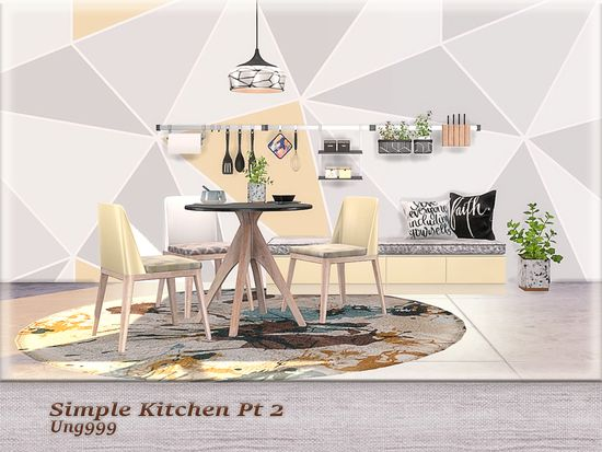 Second Part Of Simple Kitchen Set Set Includes The Following 12