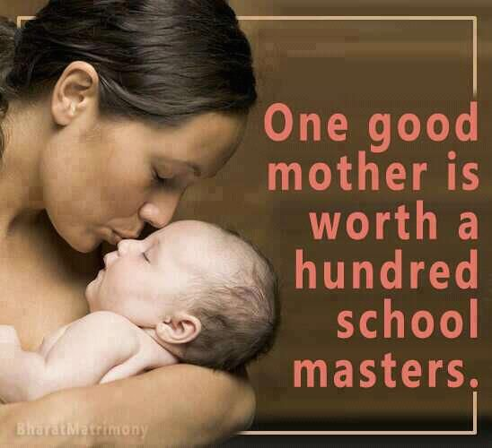 One good mother...