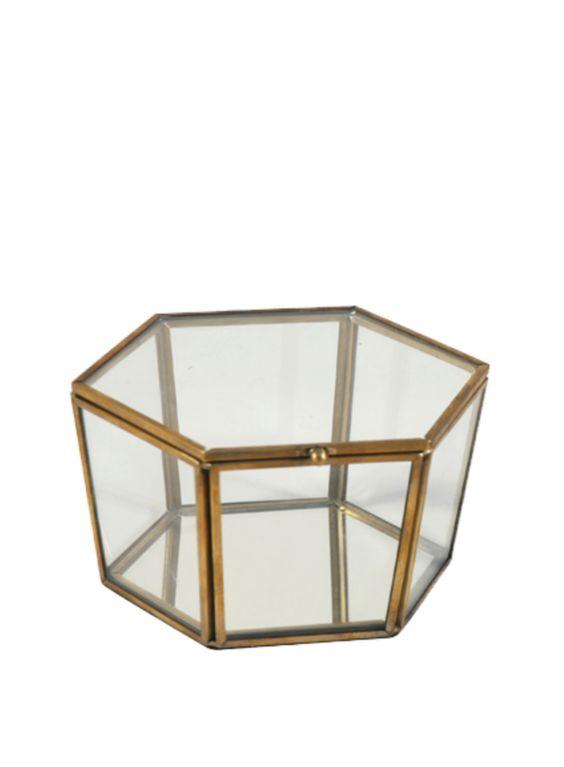 A Loja do Gato Preto | Caixa Vitrine Hexagonal #alojadogatopreto