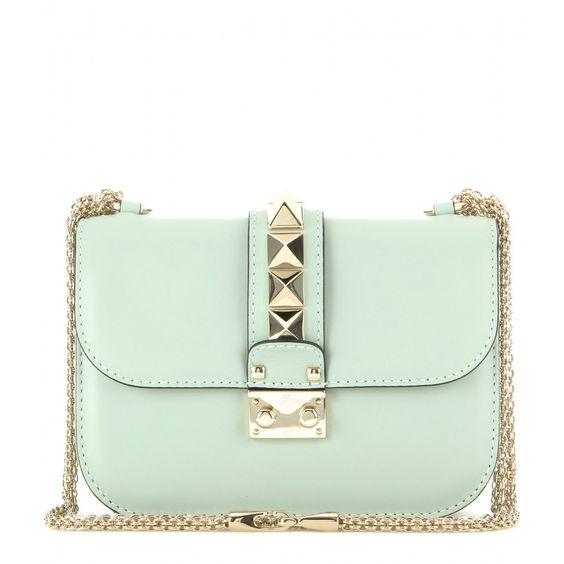 valentino lock small leather shoulder bag mytheresacom