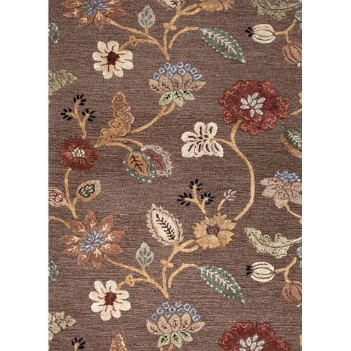 Jaipur Blue Brown And Yellow Rectangular 9 Ft 6 In X 13 Ft 6