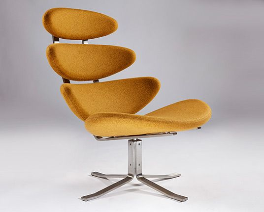 Corona chair by Poul Volther from Iconic Interiors