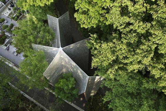 Capela do Bosque Sayama / Hiroshi Nakamura & NAP | ArchDaily Brasil