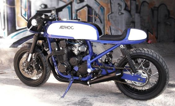 Honda Cb 750 Cafe Racer by AdHoc Cafe Racer #motorcycles #caferacer #motos | caferacerpasion.com