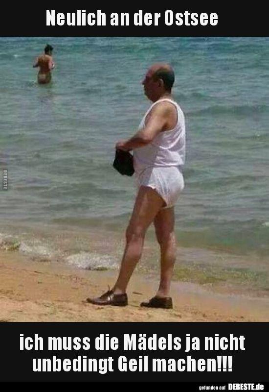 Strand bilder lustig