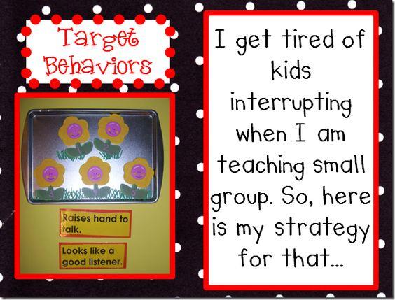 Target Behavior Management