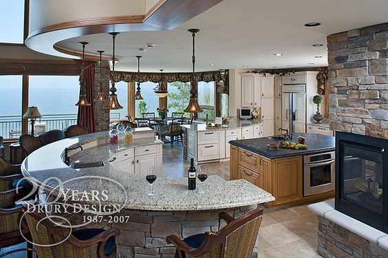 Traditional the o 39 jays and traditional kitchen designs on for Gail drury kitchen designs