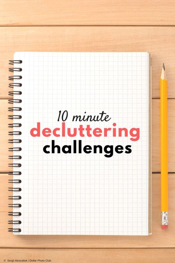 Declutter challenge, Sarah Mueller, Early Bird Mom