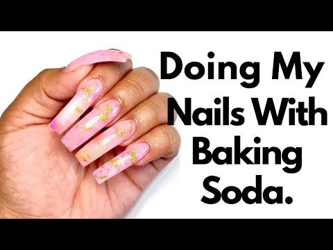 Diy Doing My Nails With 0 50 Baking Soda Cheap Nails At Home Step By Step Youtube In 2020 Nails At Home Cheap Nail Diy Nails At Home