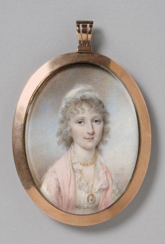 James Peale, Portrait of Maria Bassett, 1801:
