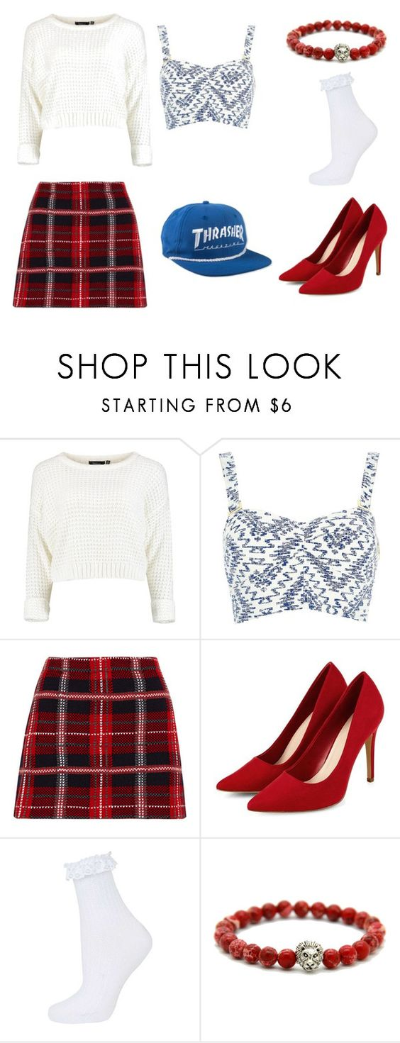 """""""Thrasher"""" by hien-anhhs on Polyvore featuring mode, River Island, Miu Miu et Topshop"""