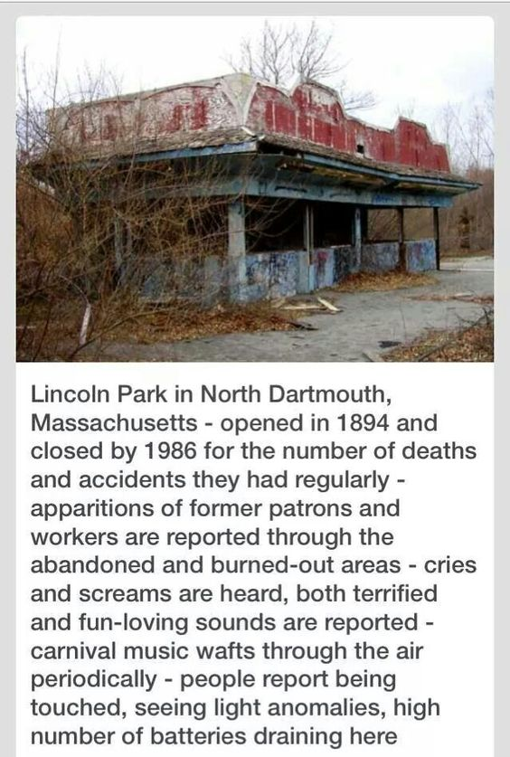 Lincoln Park North Dartmouth Massachusetts I Myself Am