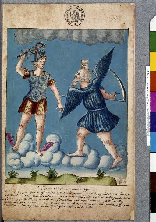 The God Of Love S Letter Christine De Pizan