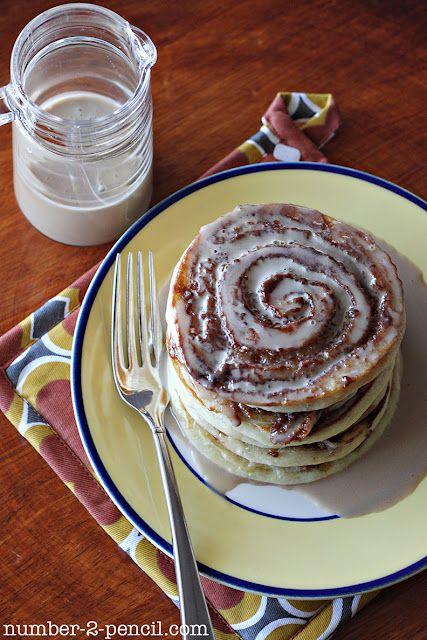 Cinnamon Roll Pancakes: Food Breakfast, Cinnamon Rolls, Cinnamon Pancake, Maple Coffee, Breakfast Idea, Breakfast Food, Cinnamon Roll Pancakes, Coffee Glaze, Breakfast Brunch
