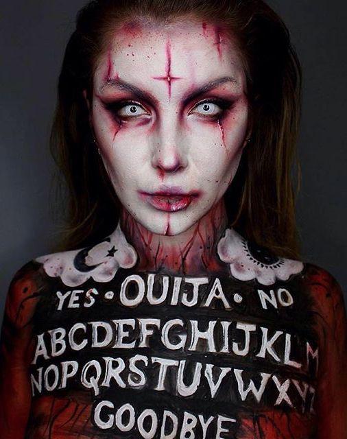 50 Pretty Halloween Makeup Ideas You\u0027ll Love - halloween horror makeup ideas