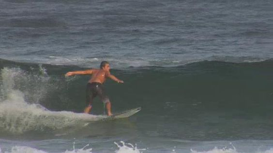 Billy Bain surfing on the northern beaches coupled with Vhs Footage of himself as a child during the 1990's.