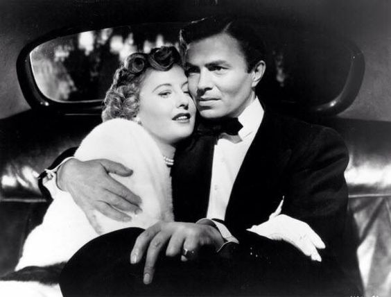 Barbara Stanwyck and James Mason in East Side West Side