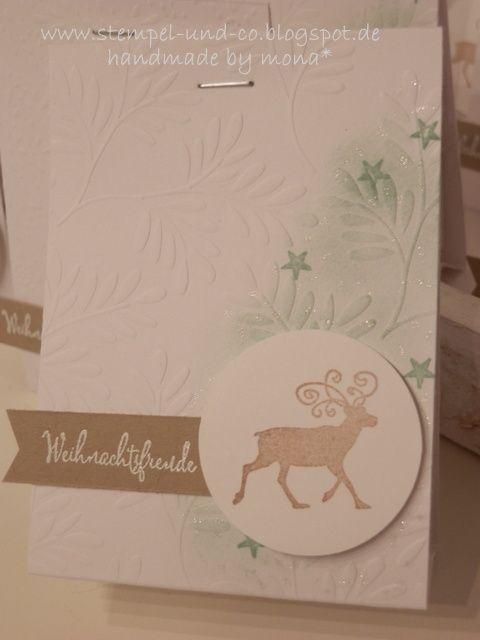 #Verpackung, #Teeverpackung, #Teetäschchen, #Stampinup, #Weihnachten, #xmas, #Christmas, #Sterne, #Stars, #Anleitung
