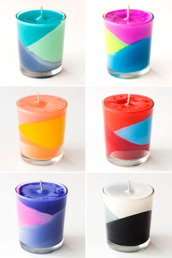 Un super tuto pour ce faire des bougies à la maison ! Et en plus elles sont jolies !