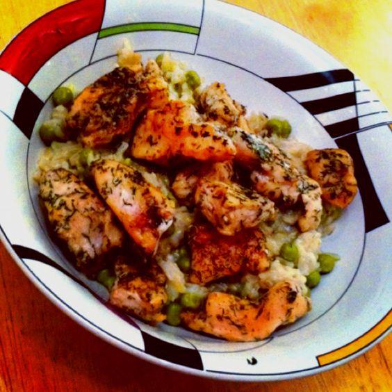 Chicken Stir Fry Domincan Republic Style