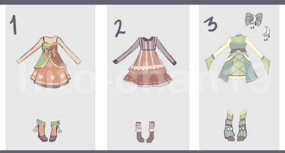 [Auction][CLOSED] Outfit Batch 10 by hito-chan19.deviantart.com on @DeviantArt