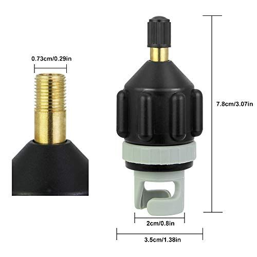 Air Valve Adapter Pump for Inflatable Boat Kayak SUP Pumping Head Connector