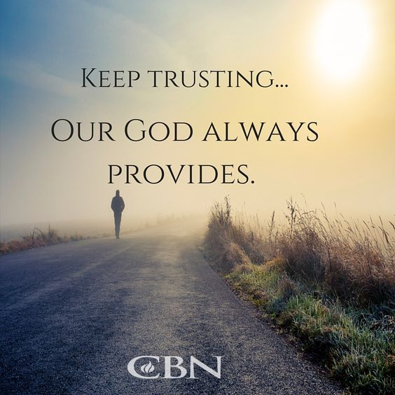 trust him with all your heart