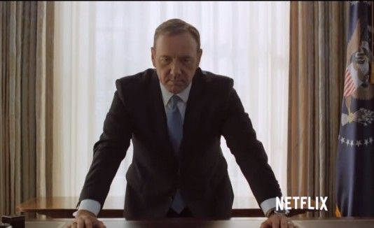 "Kevin Spacey regresa en ""House of Cards"""