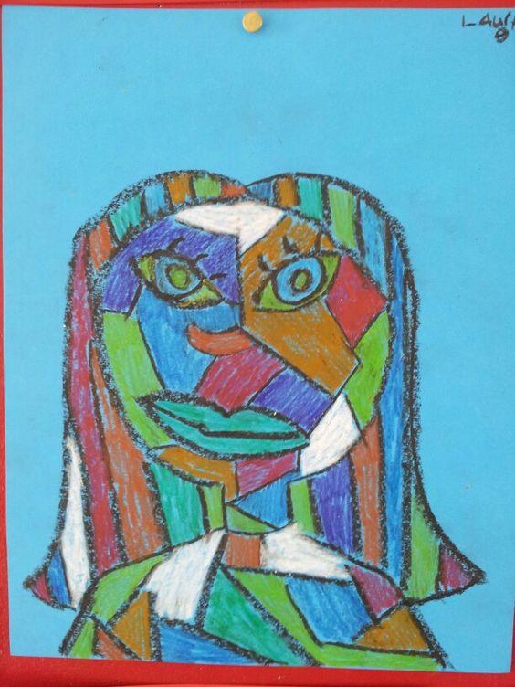Picasso Met Groep 8 Tekenen Groep 4 8 Pinterest Met