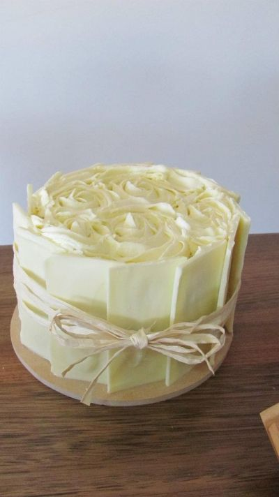 Country Wedding Cake By Dericious on CakeCentral.com
