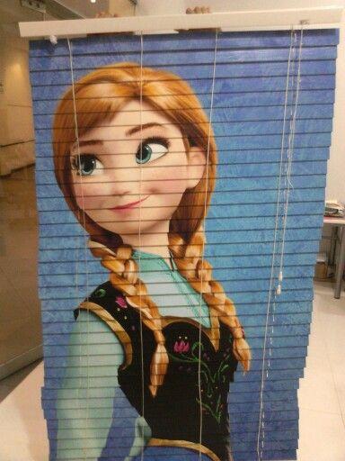 Persiana horizontal de Anna (Frozen)