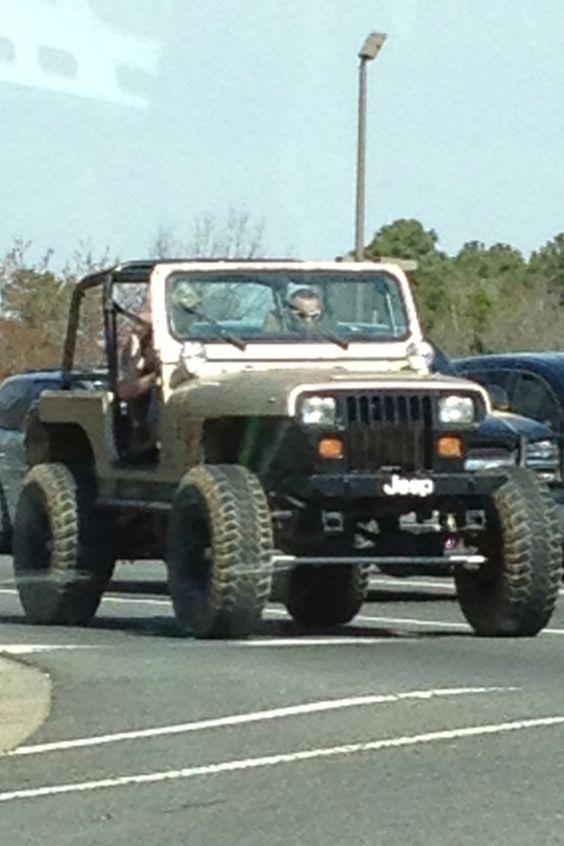 Jeep (after Pink concert)