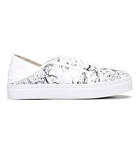 SENSO Avery V leather trainers