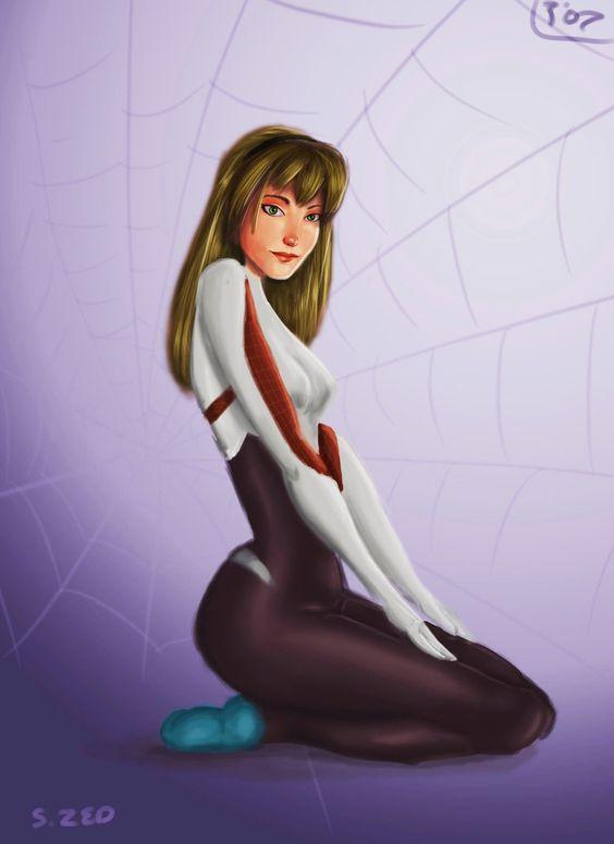 Spider-Gwen by silvanuszed.deviantart.com on @DeviantArt
