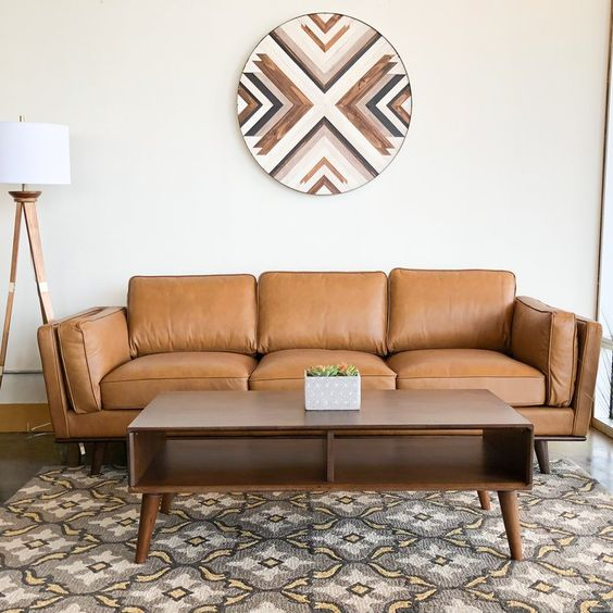 Pin Auf Leather Sofa