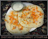 Instant Uthappam