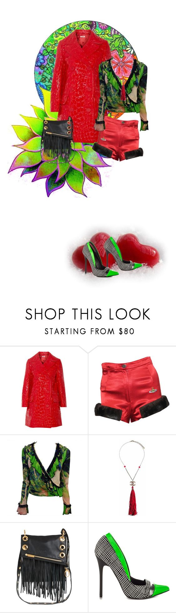 """""""10-01-16   10:37"""" by oligs022 ❤ liked on Polyvore featuring Miu Miu, Vivienne Westwood, Jean-Paul Gaultier, Chanel and Privileged"""