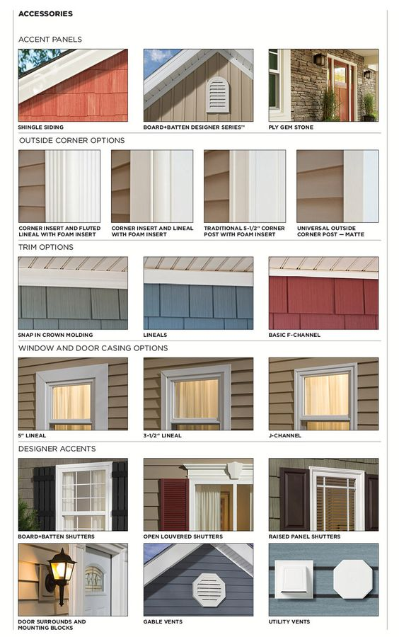 Traditional lap siding mastic home exteriors by ply gem house pinterest polymers vinyls - Mastic home exteriors ...