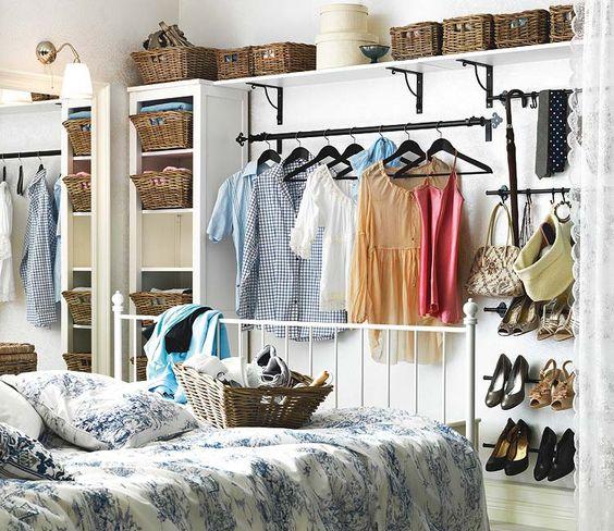 Ideas para decorar y organizar un mini-dormitorio