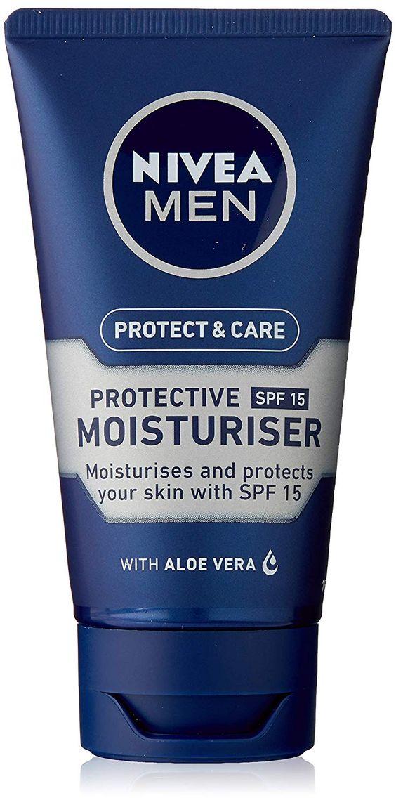 Nivea Men Protect Care Protective Moisturiser Spf15 Moisturiser Skin Dryness Mens Skin Care