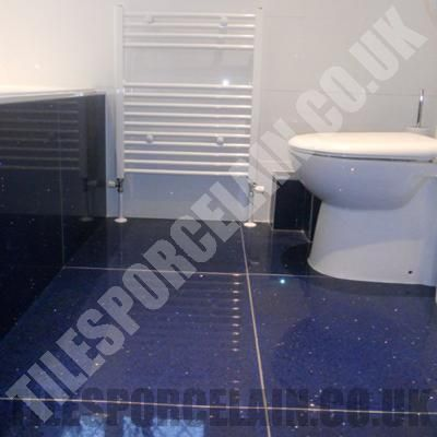 Sapphire Blue Quartz Tiles Kitchen Wall Tiles And Floor Tiles Bathrooms Pinterest