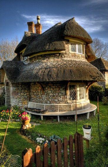 Awesome stone house!