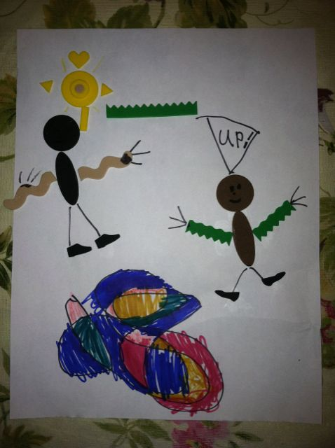 Made by CJ, 8 years old • Art My Kid Made