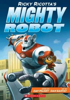 Ricky Ricotta, a small mouse, is being bullied at school, but when he rescues a powerful robot from its evil creator, he acquires a friend and protector--and saves the city from Dr. Stinky.